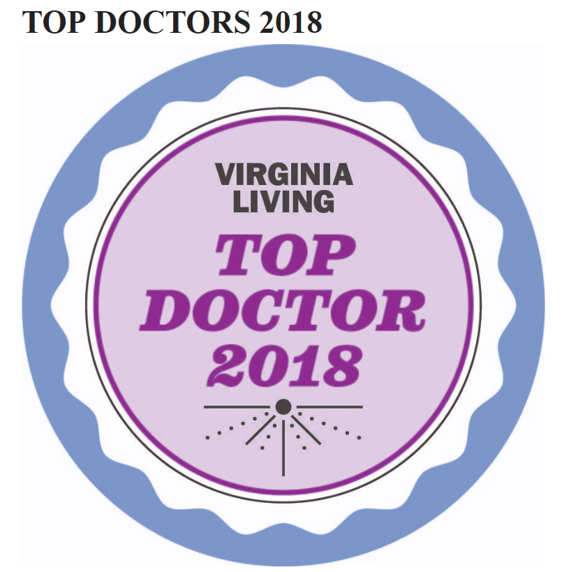 Urology of Virginia Doctors Recognized in Top Docs 2018 by Virginia Living Magazine