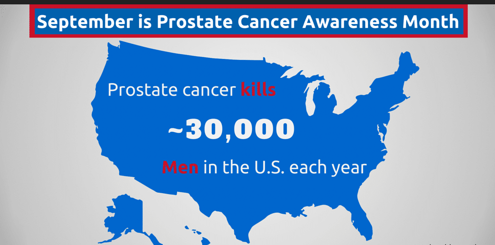 September is Prostate Cancer Awareness Month!