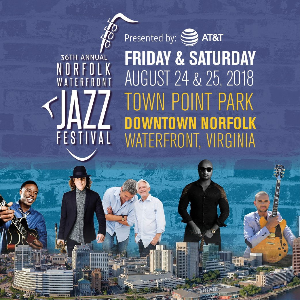 Urology of Virginia sponsoring the 36th annual  Norfolk Waterfront 2018 Jazz Festival
