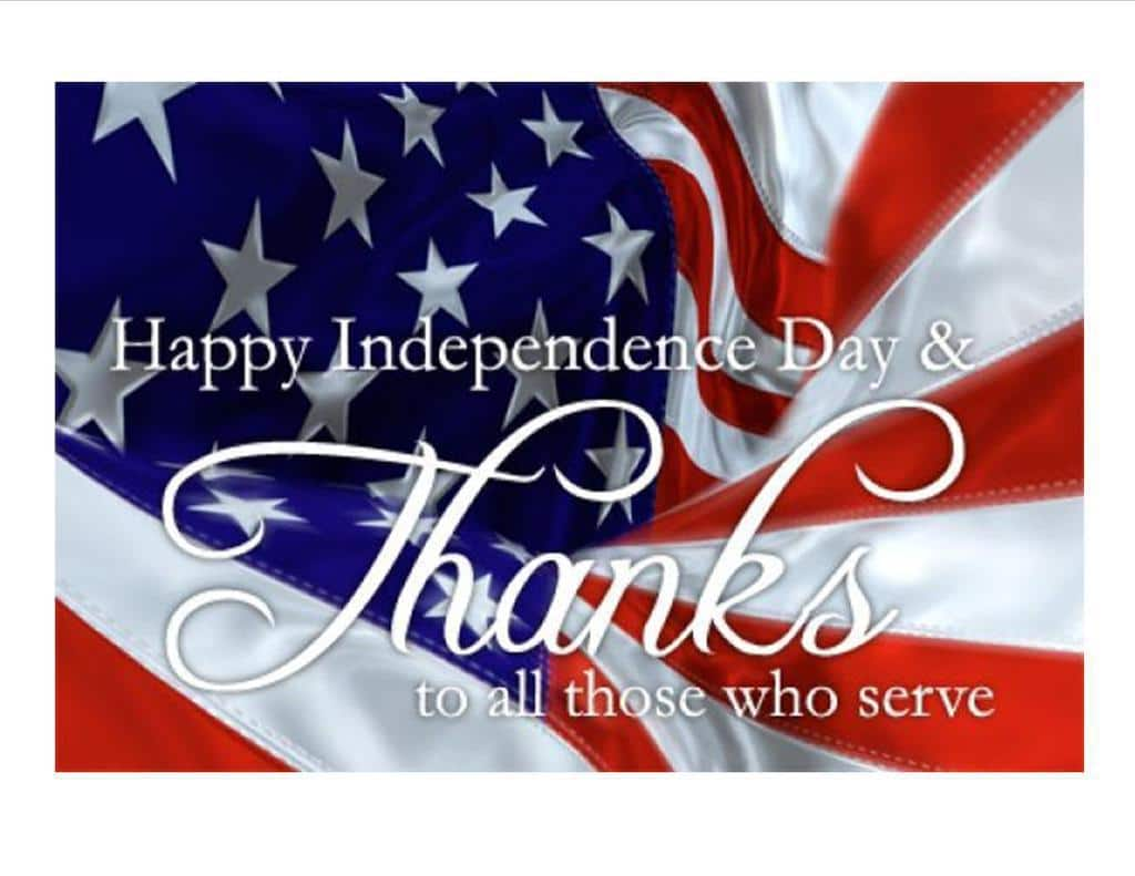 We will be closed on the 4th of July and re-open on Friday, July 5th. Wishing everyone a safe and happy Independence Day!