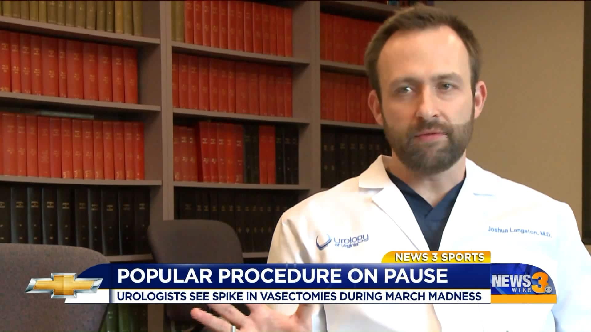 Dr. Langston on March Madness,vasectomies and the COVID-19 Baby Boom.