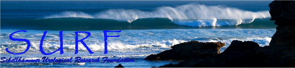 The latest edition of SURF (Schellhammer Urological Research Foundation)